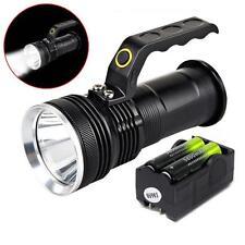 3000LM De mano CREE T6 Linterna LED Reflector linterna 2Pcs 18650&Charger