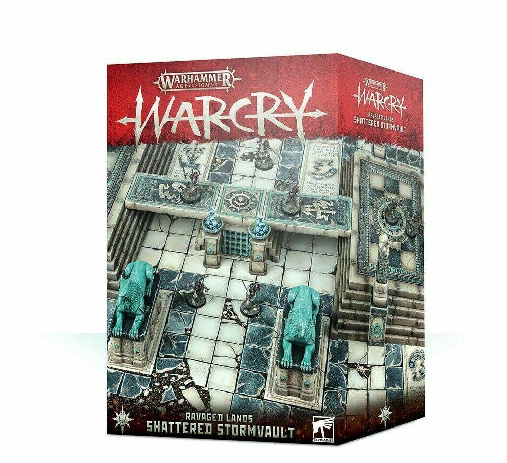 WARCRY destrozado stormvault asolado tierras Warhammer edad Sigmar