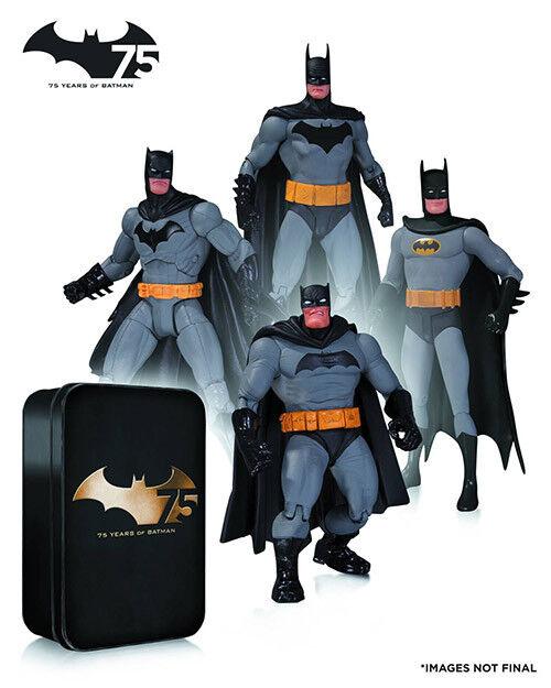 Batman 6 Inch Action Figure Special Edition - Batman 75th Anniversary Box Set