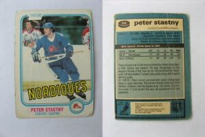 1981-82-OPC-O-Pee-Chee-269-Stastny-Peter-RC-Rookie-quebec-bad-condition