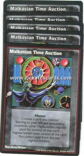 Malkavian Time Auction x5  VTES Jyhad