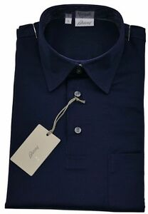 028f991bd5bc Brioni Mens Polo T Shirt Cotton Handmade BNWT SZ S  EU46 UK 36 ...