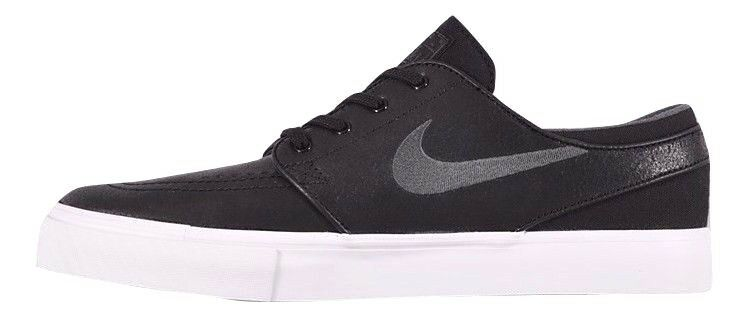 Nike ZOOM STEFAN JANOSKI L Black Anthracite Skate Discounted Price reduction Men's Shoes Wild casual shoes