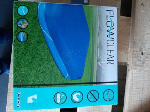NEU Bestway 58108 Poolabdeckplane Poolplane Abdeckung Family Pool 305x183x56 cm
