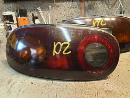 Mazda MX-5 PAIR Tail Lights smoked OS NS Driver Passenger Side Rear JDM IPMX102