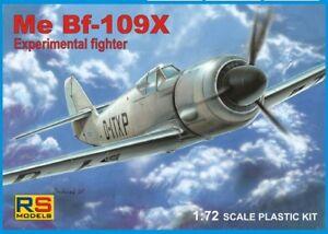 RS-Models-1-72-Messerschmitt-Me-Bf-109X-Experimental-Fighter-Model-Kit-92051
