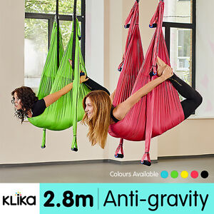 image is loading aerial yoga swing trapeze fitness home gym hammock  aerial yoga swing trapeze fitness home gym hammock inversion      rh   ebay   au