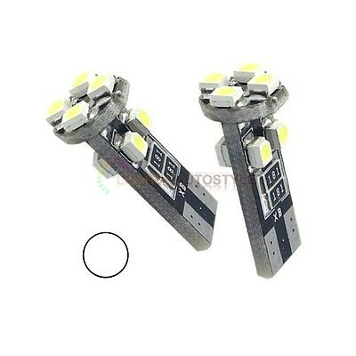 2x ERROR FREE CANBUS 8 SMD LED XENON HID W5W T10 501 CAR SIDE LIGHT BULBS 6000K