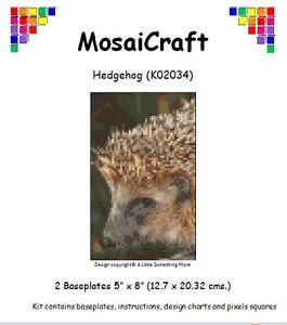 MosaiCraft-Pixel-Manualidades-Mosaico-Arte-Kit-039-Erizo-039-Pixelhobby