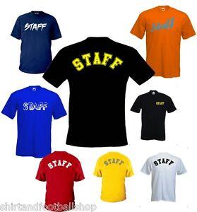 T-shirt-Staff-Cotone-Fruit-of-the-Loom-STAFF-4-Varianti-Disponibili