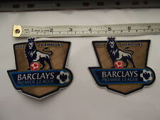 RARE chris kay LEXTRA PREMIER LEAGUE PATCHES,FOR MANCHESTER UNITED SHIRT