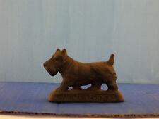 Vintage Cast Iron Scottish Terrier Figurine Scottie dog