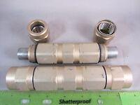 Lot Of 5 Ppc Ps875p3 Hardline Straight Splice Connectors Belden Catv