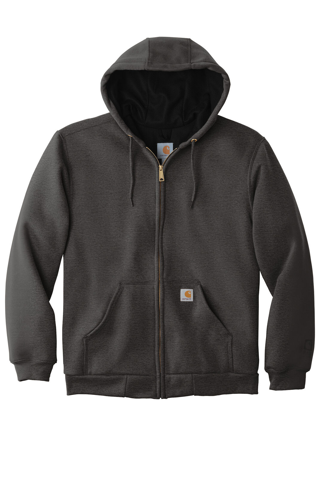 Carhartt Rain Defender Rutland Thermal Lined Zip Sweatshirt Black RN14806