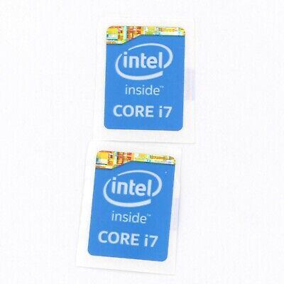 5x  Intel i7 Inside 4th Gen 15.5 x 21mm Sticker Badge Label Logo ST020 Gen NEW