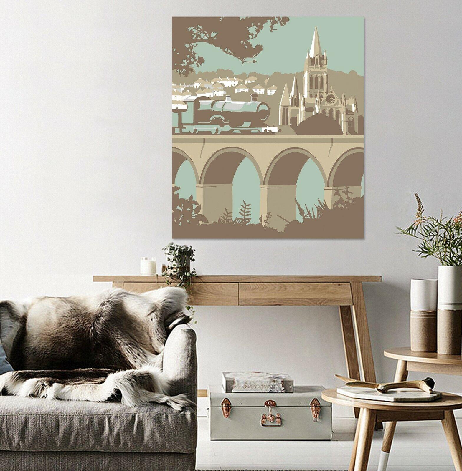 3D Bogenbrücke 63NAM Wandaufkleber Wandtattoo Tapeten Wandbild Steve Read Ava