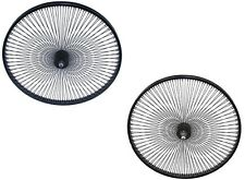 Action 14g Stainless Steel 295mm 75pc Black Spokes