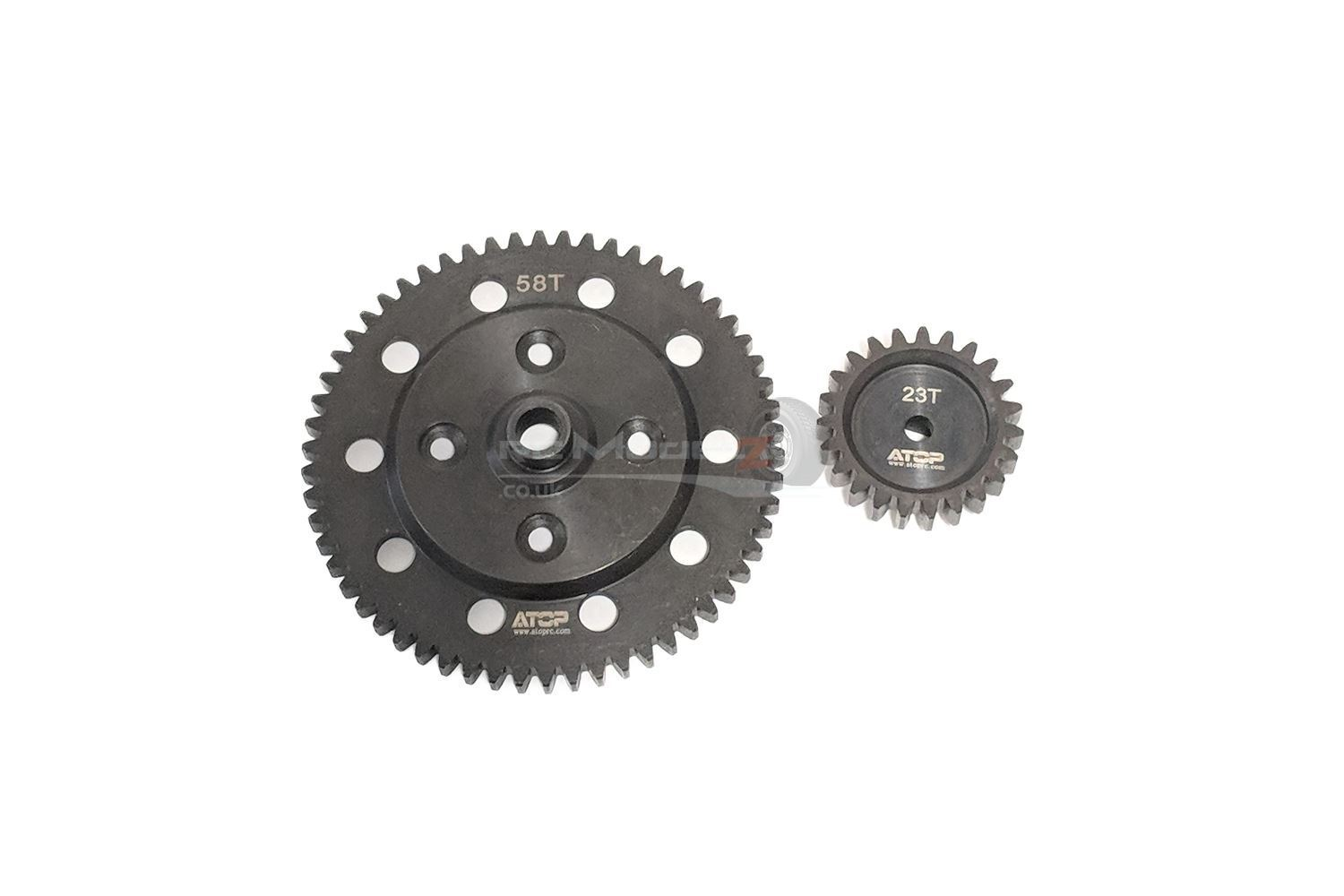 Atop RC  58 23th Spur Gear Set for Losi DBXL