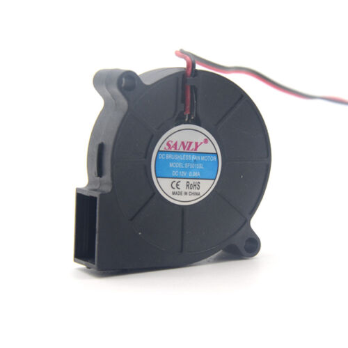 New DC12V 0.06A SANLY SF5015SL SF5015SM Blower Cooling Fan 5015 5CM 50mm 2Pin