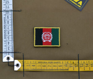 Ricamata-Embroidered-Patch-034-Small-Afghanistan-Flag-034-with-VELCRO-brand-hook