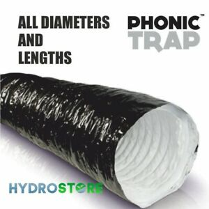 """Quietest Ducting On Market! 10/"""" Phonic Trap Acoustic Ducting"""