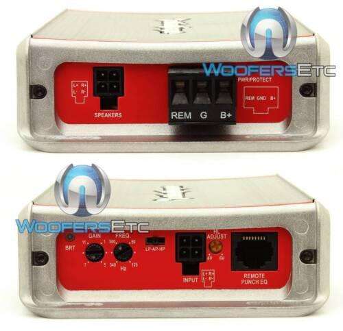 ROCKFORD FOSGATE PBR300X2 PUNCH 2CH AMP 600W MAX SUBWOOFER SPEAKER AMPLIFIER NEW
