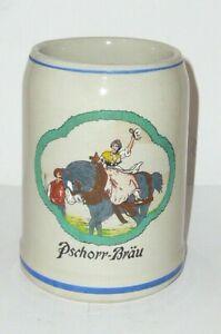 Old-Brewery-Mug-Pschorrbrau-Pschorr-Brew-Munchen-Beer-Stein-Mug-Beer