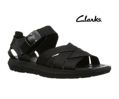 Clarks /&Christopher Raeburn Molniya Free Blue Combi Leather Men's Sandal UK 9.5G