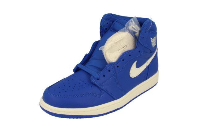 best sneakers 87050 b31ef 2018 Nike Air Jordan 1 Retro High OG HYPER Royal Blue 555088-401 Sz 9