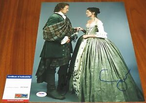 Caitriona-Balfe-and-Sam-Heughan-Signed-11x14-Outlander-Claire-Jamie-PSA-DNA