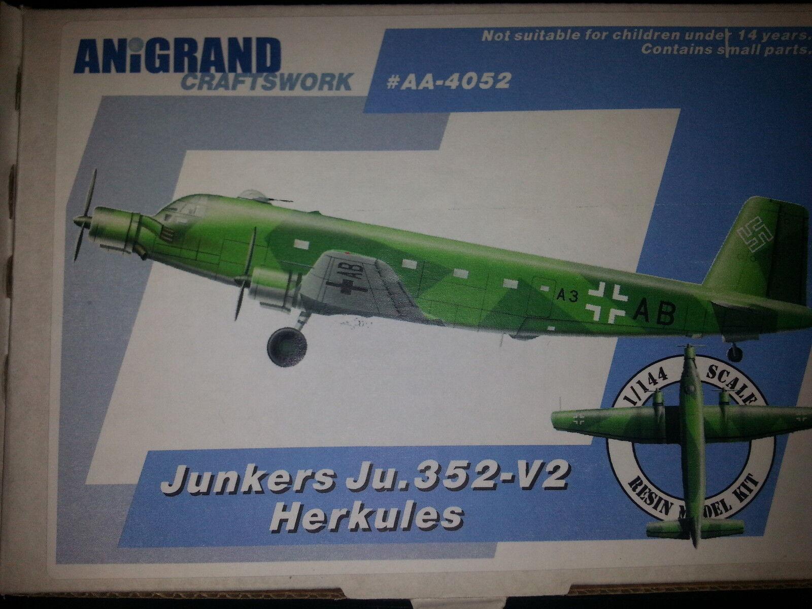 JUNKERS JU-352-V2 HERKULES (+ 4 Kits) ANIGRAND 1 144 RESIN KIT