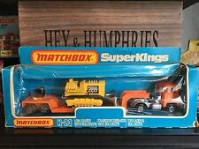 matchbox super kings K 23 B-5.Very Rare Orange/Orange Version mint OVP from 1981