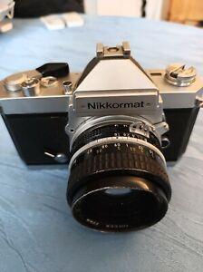 Kamera Nikon   Nikkormat FT3 mit Zubehör