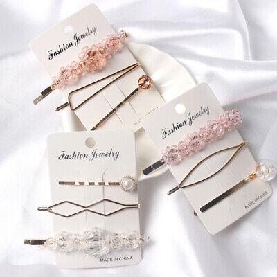 12PCS Fashion Pearl Hair Clip Hairband Comb Bobby Pin Barrette Hairpin Headdress