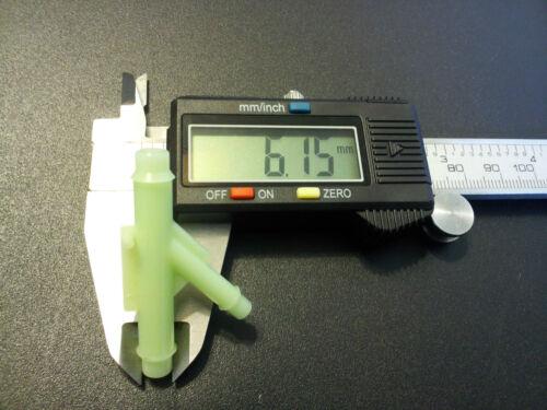 For Jaguar 2 Plastic Vacuum Hose Splitter Y T Connector Washer Fluid 5mm x 7mm