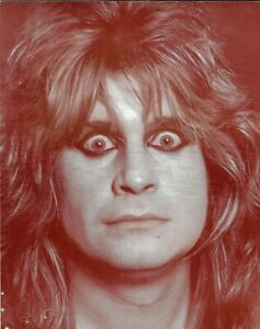 Plakat Foto Sepia Ozzy Osbourne -
