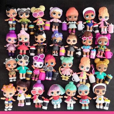 Lot 8 LOL Surprise Dolls Random Big Sister with Random Dress Shoes Bottle