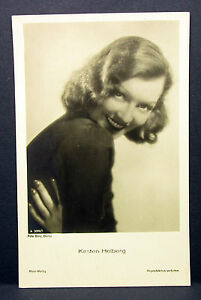Kirsten-Heiberg-Actor-Movie-Photo-Foto-Autogramm-Karte-AK-Lot-H-342