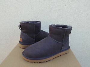 e89c05bd2aa Details about UGG CLASSIC MINI II NIGHTFALL WATER-RESISTANT SUEDE BOOTS, US  10/ EUR 41 ~ NIB