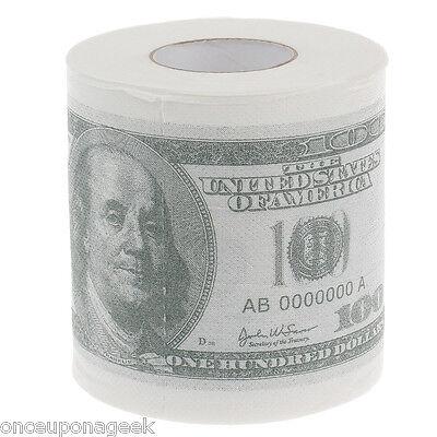 Money Toilet Roll - Dollar Bill Note Toilet Paper