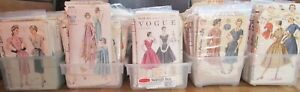 Lot-of-190-Vintage-Sewing-Patterns-1940-039-s-1950-039-s-Vogue-Simplicity-McCalls
