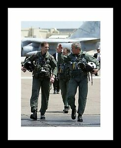 George W Bush 8x10 Signed photo print September 11th WTC towers 9//11 president