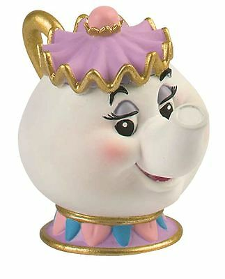 LA BELLA Y BESTIA Mrs Potts Figura - DISNEY BULLYLAND Juguete topper para tarta