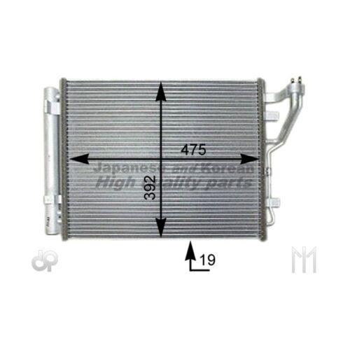 Ashuki y550-94 Condensateur Air Conditionné Pour Hyundai i30 i30 Cw Kia Cee /'d SW