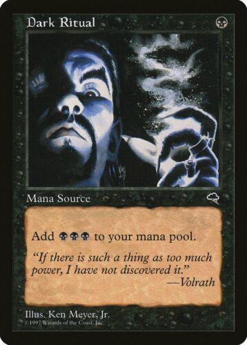Dark Ritual Tempest NM Black Common MAGIC THE GATHERING MTG CARD ABUGames