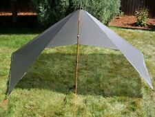 Bear Paw Wilderness Designs 5x9 Silnylon Gray Tarp/Tent