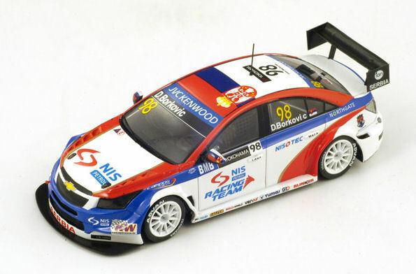 77 chevrolet cruze wtcc  racing 2014 r. munnich 1 43 model s2465  remise élevée