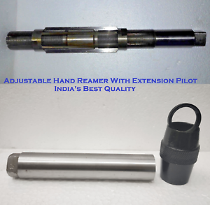 """H10 Adjustable Hand Reamer 27//32/"""" to 15//16/"""" Extension Pilot 21.43-23.81mm"""