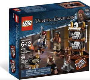 Lego Nouveau Pirates Of The Caribbean Capitaine Cabine 4191 Ensemble Scellé