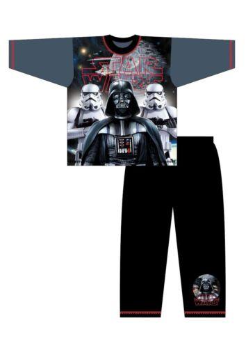 Neu Disney Star Wars Schlafanzüge Jungen Kinder Super Weich Auswahl an